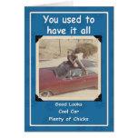 Cool Dude Birthday Greeting Card
