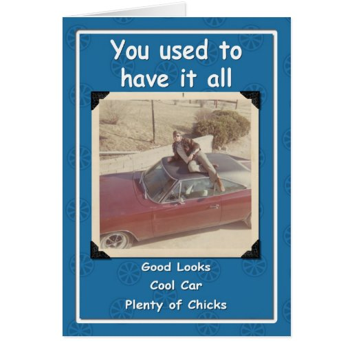 Cool Dude Birthday Greeting Card