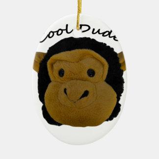 Cool Dude Ceramic Ornament