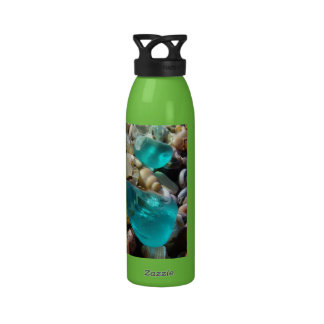 Cool Dude Dad gifts Water Bottles Beach Seaglass