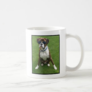 Cool Dude Dog Coffee Mug