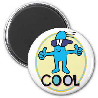 Cool Dude Refrigerator Magnet