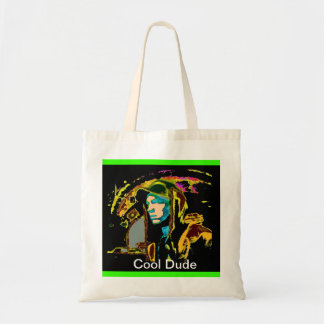 Cool Dude Shopping Tote Bag