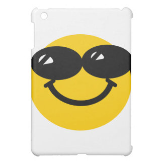 Cool dude smiley iPad mini covers