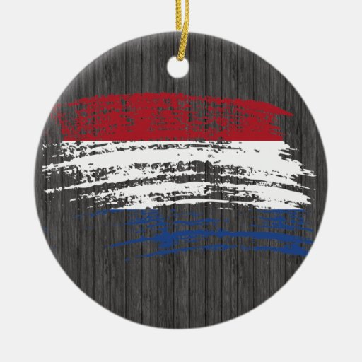 Cool Dutch flag design Ornaments