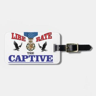 cool eagle rap bag tag