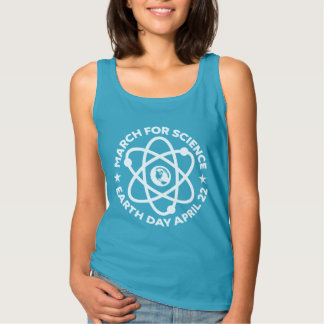 Cool Earth Day March for Science Tank Top