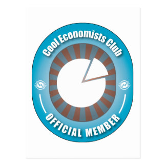 Cool Economists Club Postcard