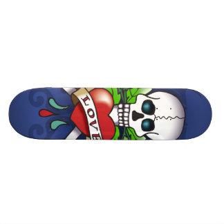 Cool Ed Hardy style skateboard