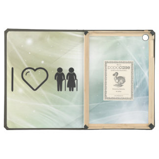 Cool Elderly Couples Cover For iPad Air