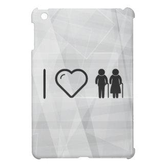 Cool Elderly Couples iPad Mini Cover