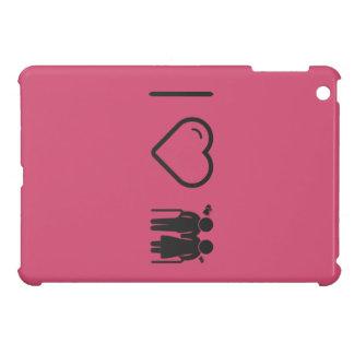Cool Elderly Lovers iPad Mini Cases