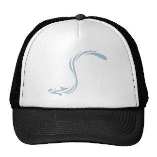 Cool Electric Eel Fish Icon Logo Mesh Hat