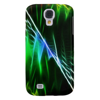 Cool electric green samsung galaxy s4 cover