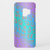 Cool Electric Leopard Animal Print Galaxy Case
