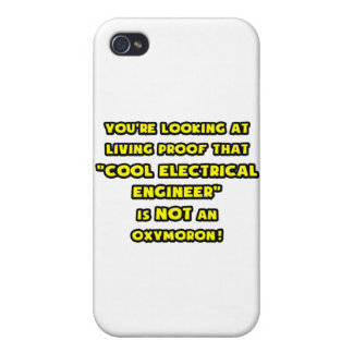 Cool Electrical Engineer Is NOT an Oxymoron Cover For iPhone 4