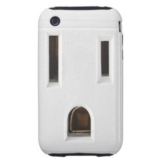 Cool electrical outlet tough iPhone 3 case