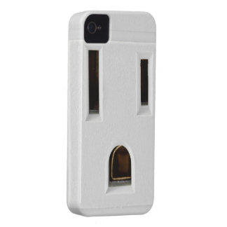 Cool electrical outlet iPhone 4 cover