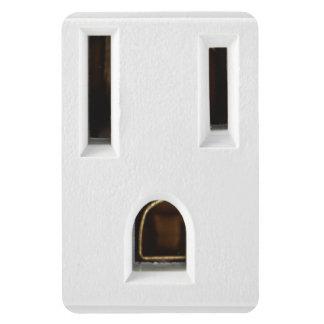 Cool electrical outlet vinyl magnet