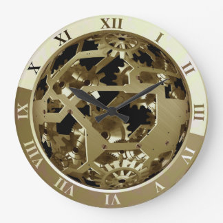 Cool Elegant and attractive Clock Gears Printed