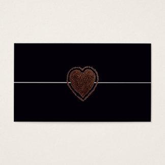 Cool Elegant Coffee Heart Modern / House-of-Grosch Business Card