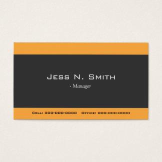 cool, elegant simple business card