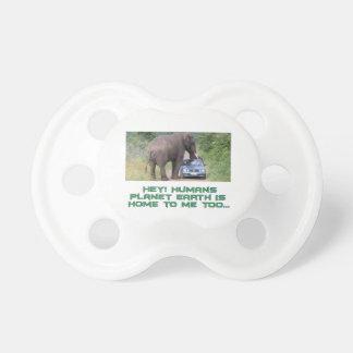 cool Elephant designs Pacifier
