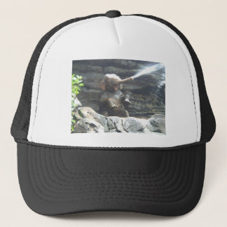 Cool Elephant Splash Trucker Hat