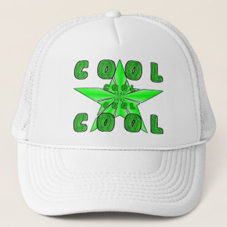 """COOL"" emitting 3D star Trucker Hat"