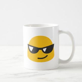Cool Emoji Classic White Coffee Mug