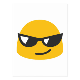 Cool Emoji Postcard