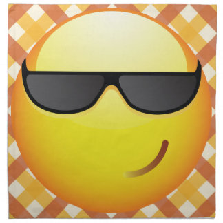 Cool Emoticon Napkin