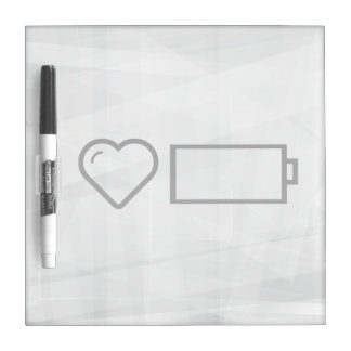 Cool Empty Batteries Dry Erase Whiteboard