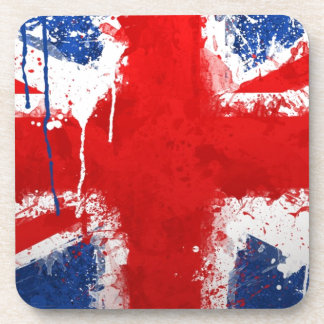 Cool England flag Drink Coasters