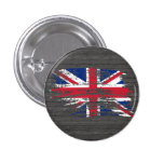 Cool English flag design Pinback Buttons