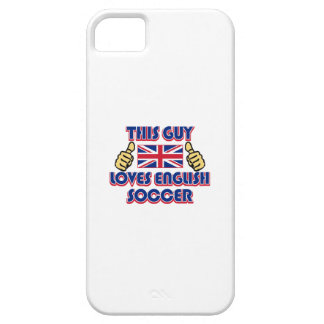 cool ENGLISH soccer DESIGNS iPhone SE/5/5s Case
