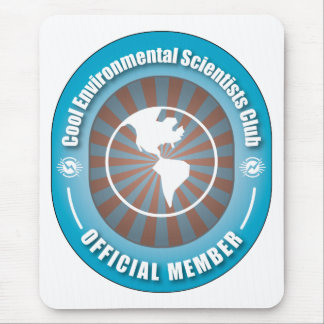 Cool Environmental Scientists Club Mouse Pad