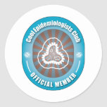 Cool Epidemiologists Club Round Stickers