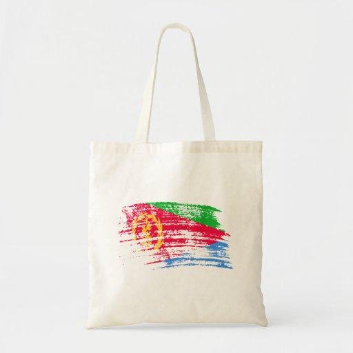 Cool Eritrean flag design Tote Bags