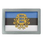 Cool Estonia Flag Belt Buckle! Rectangular Belt Buckle