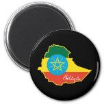 Cool Ethiopia Fridge Magnet