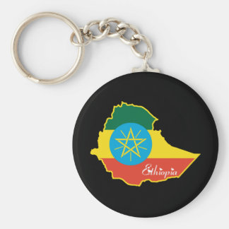 Cool Ethiopia Keychain
