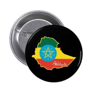 Cool Ethiopia Pinback Button