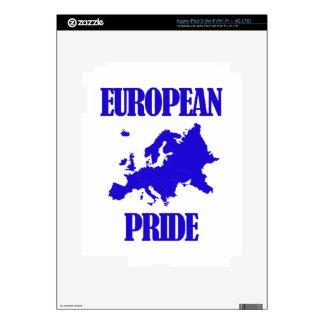 cool European designs Skins For iPad 3