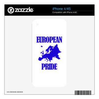 cool European designs Skin For iPhone 4S
