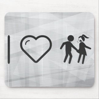 Cool Eve Teasing Mouse Pad