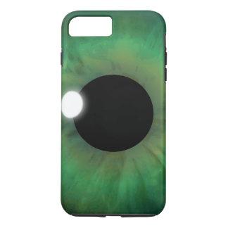 Cool eyePhone Green Eye Iris Eyeball Tough iPhone 8 Plus/7 Plus Case