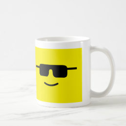cool face coffee mug
