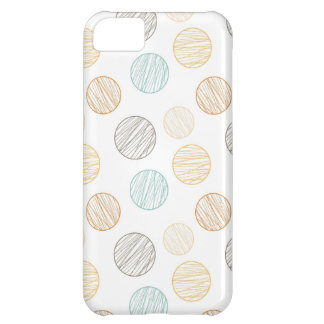 Cool Faded Colorful Balls of Yarn Pattern Gifts Cover For iPhone 5C