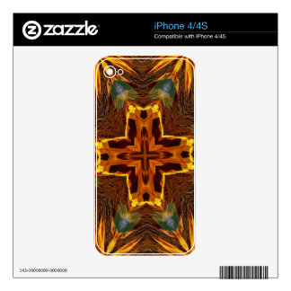 Cool Fall Flaming Arrows Mandela Skins For iPhone 4